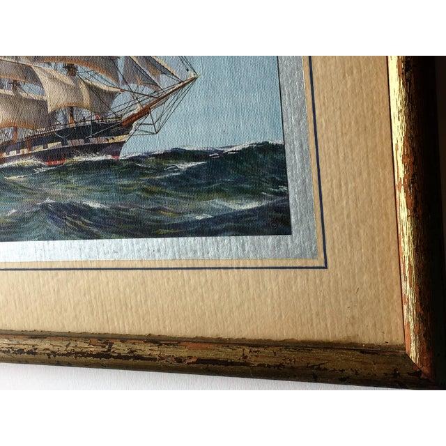 Framed Ship Print - Image 3 of 7