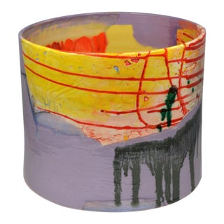 "Lauren Mabry ""Cylinder (Vivid Purple Field)"""