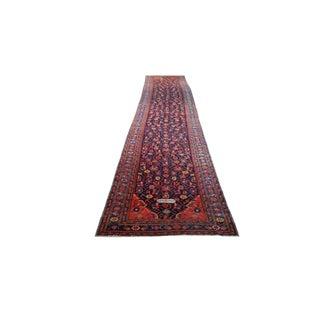 Persian Caucasian Handmade Knotted Rug - 3′6″ × 19′