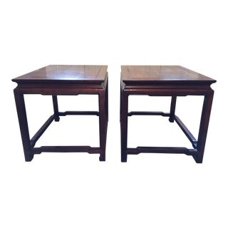 Henredon Matching End Tables -- A Pair