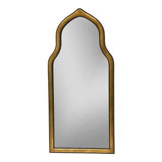 Gilt Gesso Arched Pier Mirror
