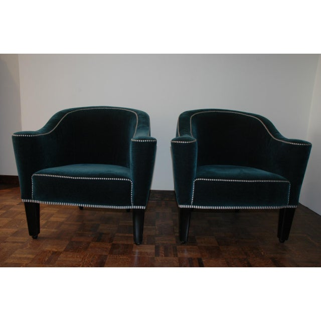 Josef Hosffmann Villa Gallia - A Chairs - Image 2 of 3