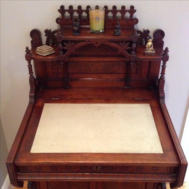 Antique Secretary Desk - Image 4 of 7
