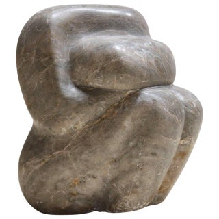 Grey Marble Sculpture
