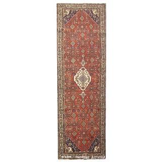 Vintage Persian Hamedan Rug - 3'11'' x 13'4''
