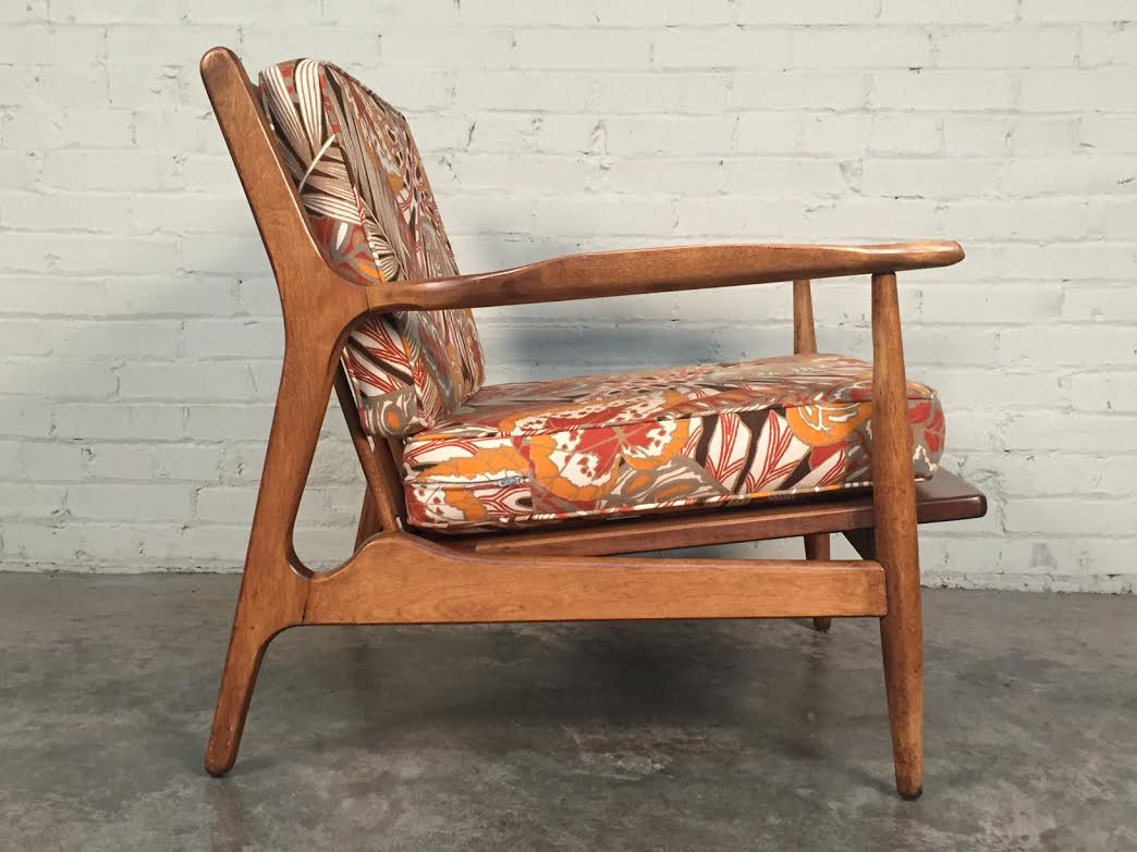 Conant Ball Mid-Century Modern Lounge Chair : Chairish