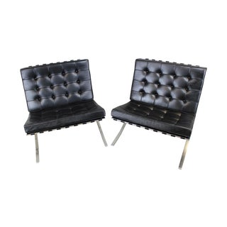 Knoll Mies Van Der Rohe Barcelona Chairs