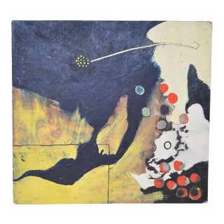 Bill Geiss Abstract Oil Painting c.1963