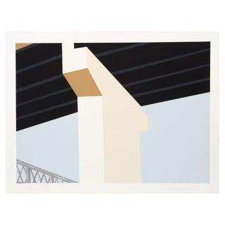 Allan d'Arcangelo Serigraph - Bridge