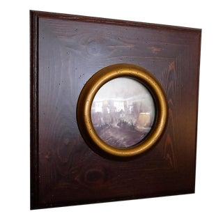 J. M. W. Turner Convex Glass Framed Sea Scene Print
