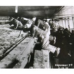 Image of Vintage Photograph Workers on Ship, 1932
