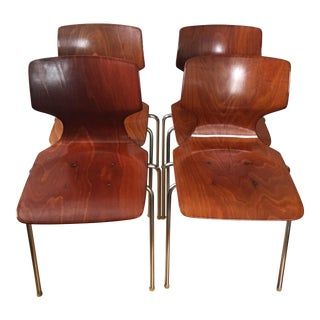 Mid-Century Pagholz Dining Chairs - Set of 4