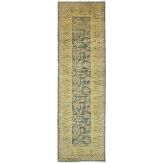 "Traditional Hand-Knotted Runner - 3' 0"" x 9' 10"""