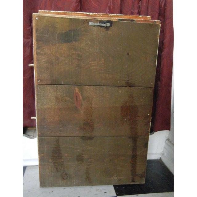 Image of Vintage Crackle Distressed Spice Rack