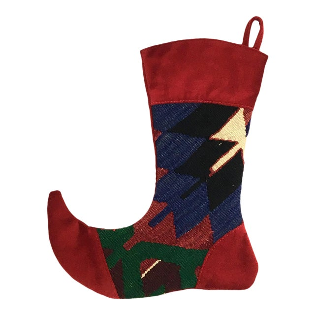 Kilim Christmas Stocking | Jonah - Image 1 of 3