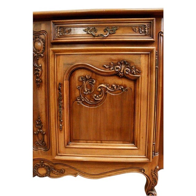 Vintage French Rococo Sideboard 1950 Louis XV - Image 5 of 8