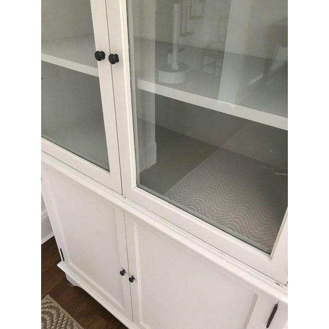 Tall Oly Swedish Style Glass Door Cabinet - Image 6 of 10