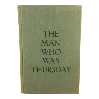 The Man Who Was Thursday Book