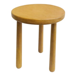 Modern Martin & Brockett Pine Stool