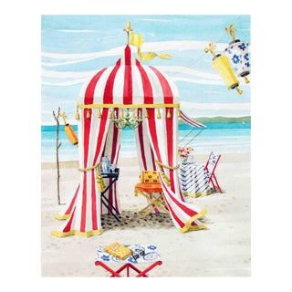 """At the Beach"" Giclée Print"
