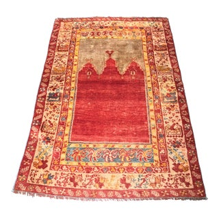 "Bellwether Rugs Vintage Turkish Oushak ""Prayer"" Rug - 3'4"" X 4'11"""