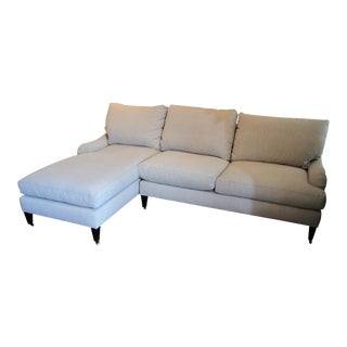 Lee Industries Contemporary Gray Sectional