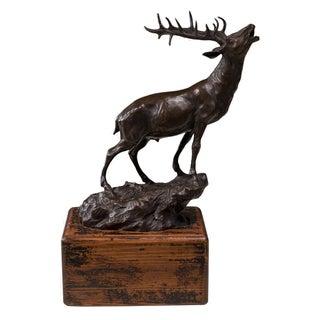 Sarreid LTD Bronze Bugling Elk Figure