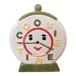 Vintage Cookie Time Jar
