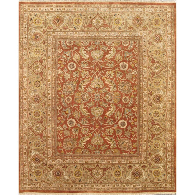 Image of Pasargad Sultanabad Persian Wool Area Rug- 8'x10'