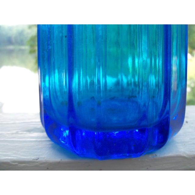 Optic Panel Cobalt Sapphire Seltzer Bottle - Image 6 of 9
