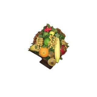 Wooden Fruit Cluster Centerpiece