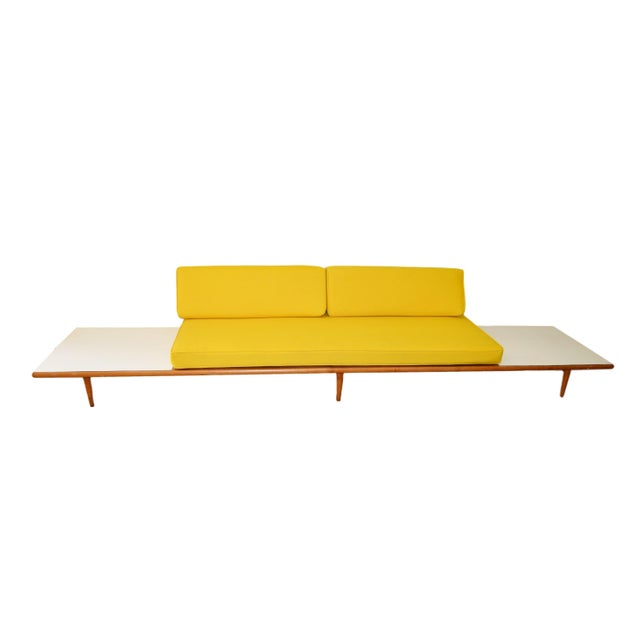 Mid Century Modern Sofa with New Upholstery - Image 2 of 5