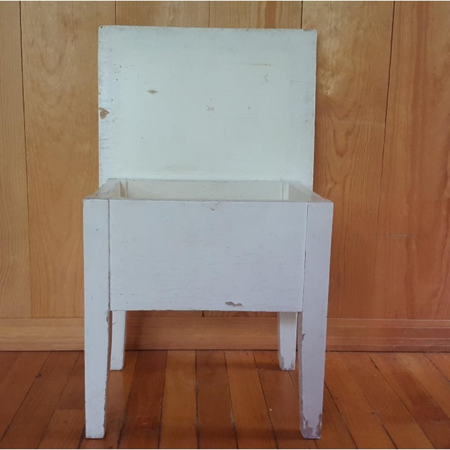 Shabby Chic Wooden Stool - Image 5 of 7