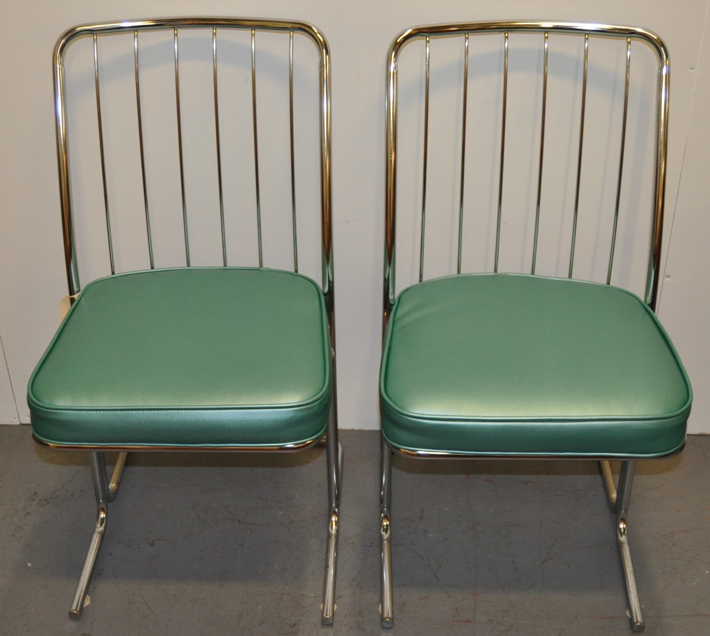 1950s Chrome & Vinyl Kitchen Chairs  Set Of Four  Chairish. Living Room Carpet Designs. Interior Design Living Room Ideas Contemporary. Beds For Living Room. Entertainment Centers For Living Rooms. Ideas For My Living Room. Home Office Living Room Design Ideas. Tuscan Style Furniture Living Rooms. Living Room Furniture Arrangement With Corner Fireplace