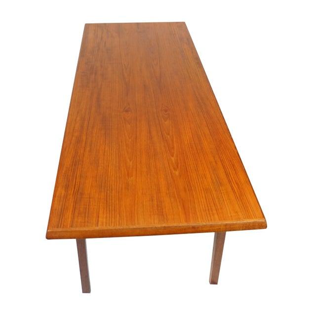 Danish Mid Century Teak Coffee Table Chairish