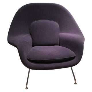 Eero Saarinen Purple Knoll Chair