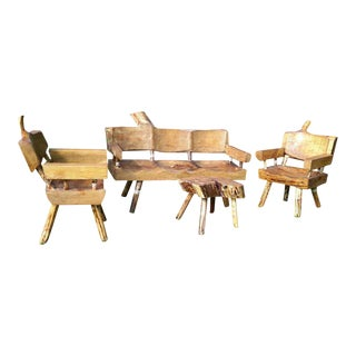Parota & Cedar Wood Patio Furniture