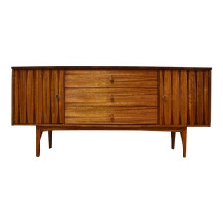 Lane Zebra Wood and Rosewood Credenza
