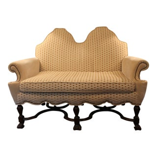 Shaped Back Loveseat