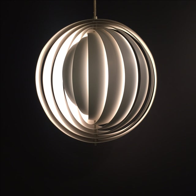 Verner Panton Moon Pendants- A Pair - Image 5 of 7
