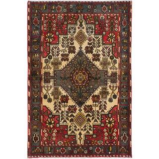 "5'3"" x 10'3"" Koliai Vintage Persian Rug"