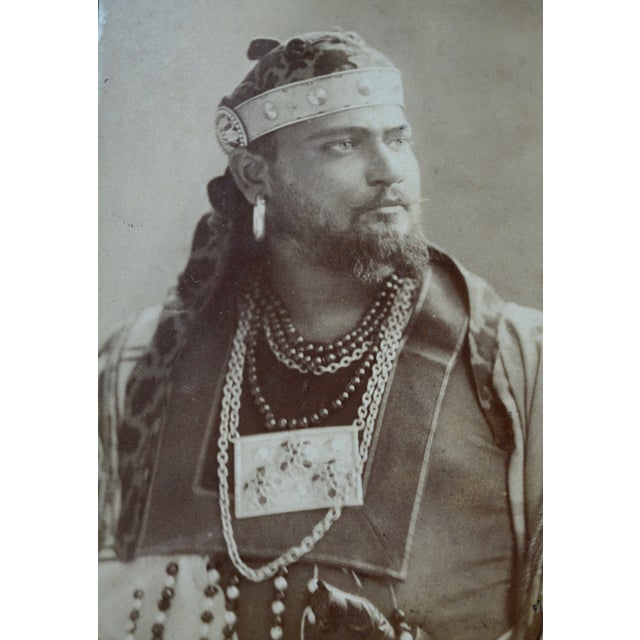 Antique Theater Actor Photograph - Image 4 of 6