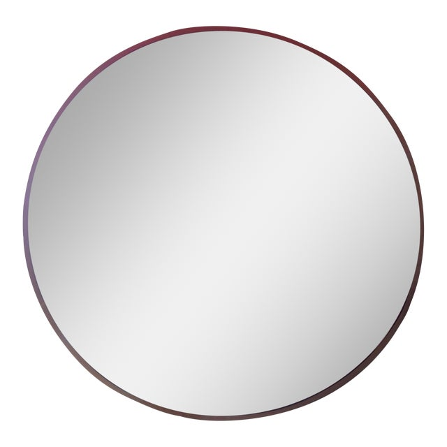 Round Gold Framed Mirror - Image 1 of 5