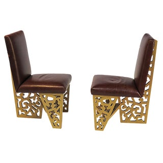 Robert Hutchinson Designed Chairs - A Pair