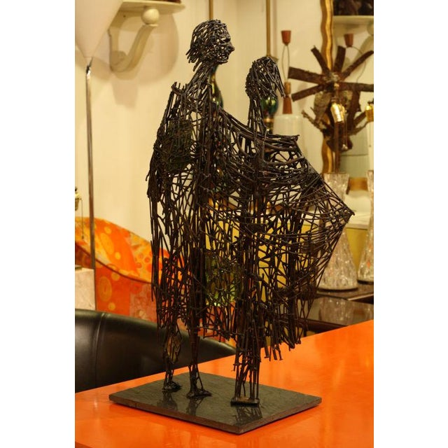 Heart of Glass Figurative Nail Sculpture - Image 2 of 9
