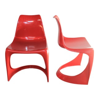 Steen Ostergaard Dining 290 A-Line Chairs - A Pair