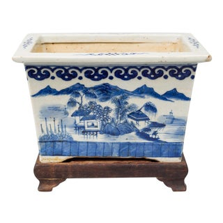 Chinese Export Jardiniere on Stand, Circa 1800