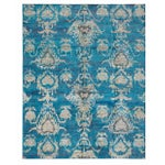 """Image of Hand-Knotted Sari Silk Indian Rug - 7'11"""" X 10'0"""""""