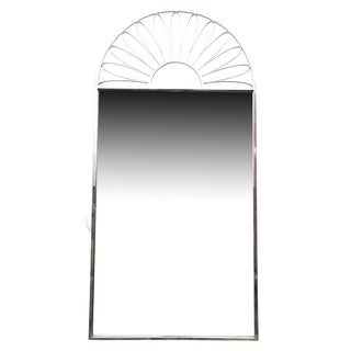 Italian Nickel Silver Mirror