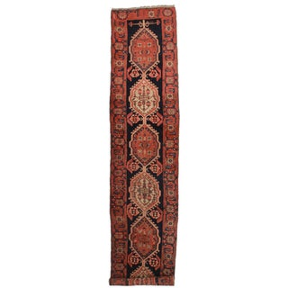 "RugsinDallas Antique Persian Sarab Wool Runner - 2'10"" X 13'10"""